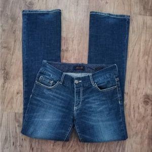 Seven7 Boot Cut Jeans Size: 8